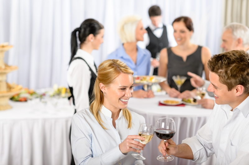 business-meeting-banquet-man-and-woman-celebrate