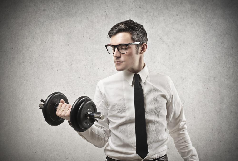 Bygga ett eget gym på kontoret